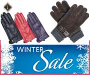 Buy Online Deer Skin gloves Houndstooth